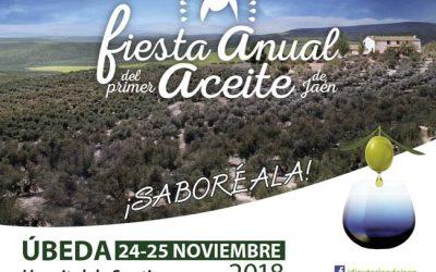 Celebramos en Úbeda la fiesta anual del primer aceite de Jaén